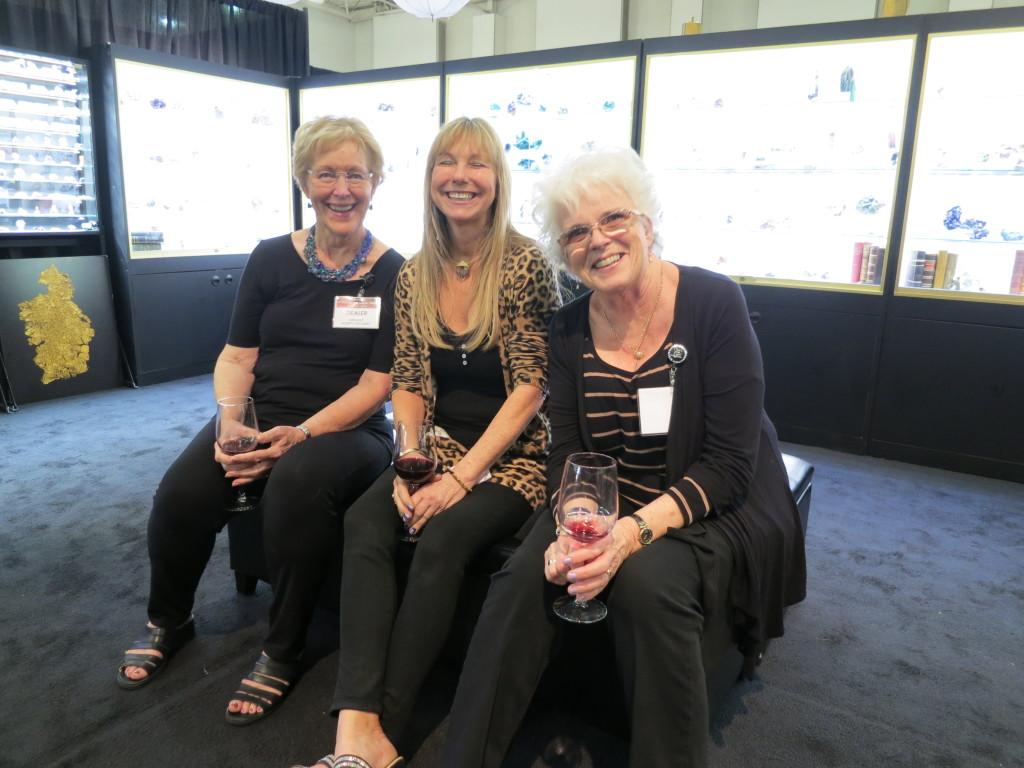 Robbie McCarty, Lois Nelson, Audrey Lloyd