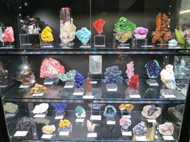 Some of our more spectacular minerals