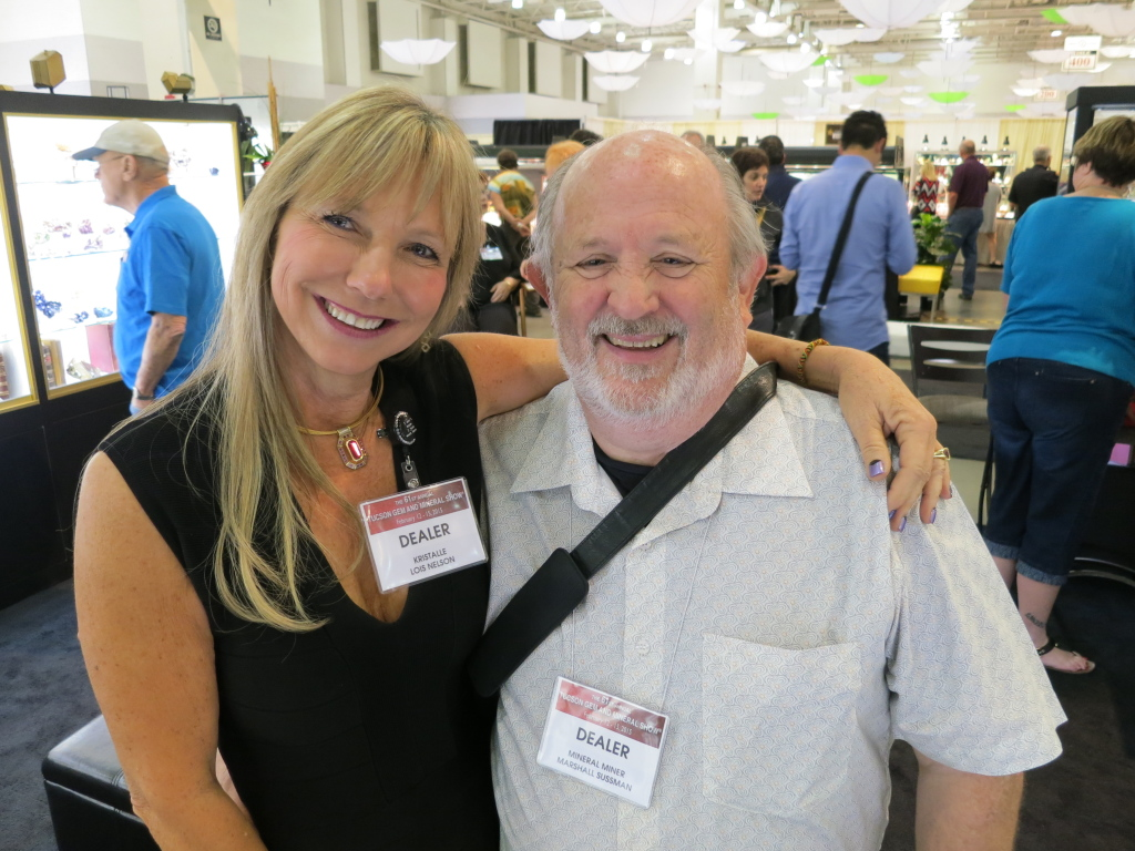 Lois with good friend Marshall Sussman
