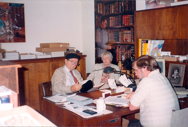 Wayne Leicht with John Sinkankas and Marge Sinkankas