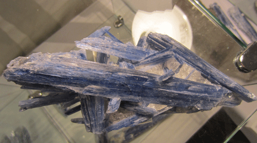 New Kyanite from São José da Safira, Doce valley, Minas Gerais, Southeast Region, Brazil.