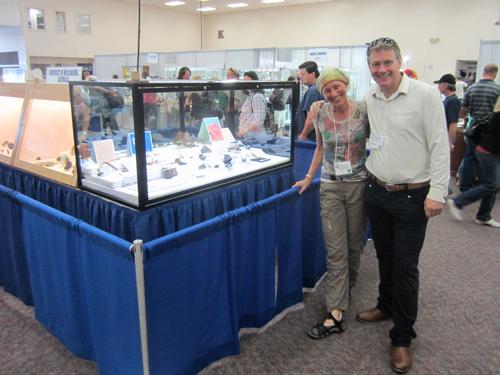 Renate Schumacher with Ian