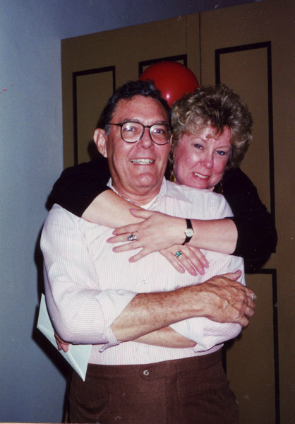 Dona Leicht and Richard Bideaux in 1995
