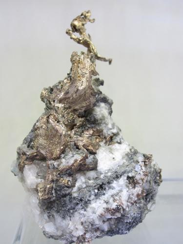 A great Silver from the Kongsberg Silver Mining District, Svene, Flesberg, Buskerud, Norway.