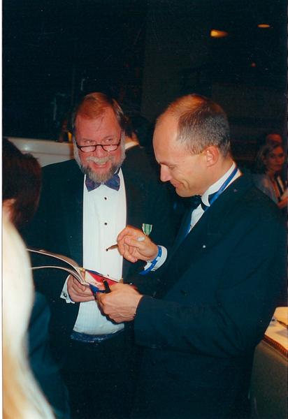 Wayne Leicht and Bertrand Picard