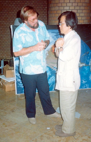 Wayne and Dr. Hidemichi Hori