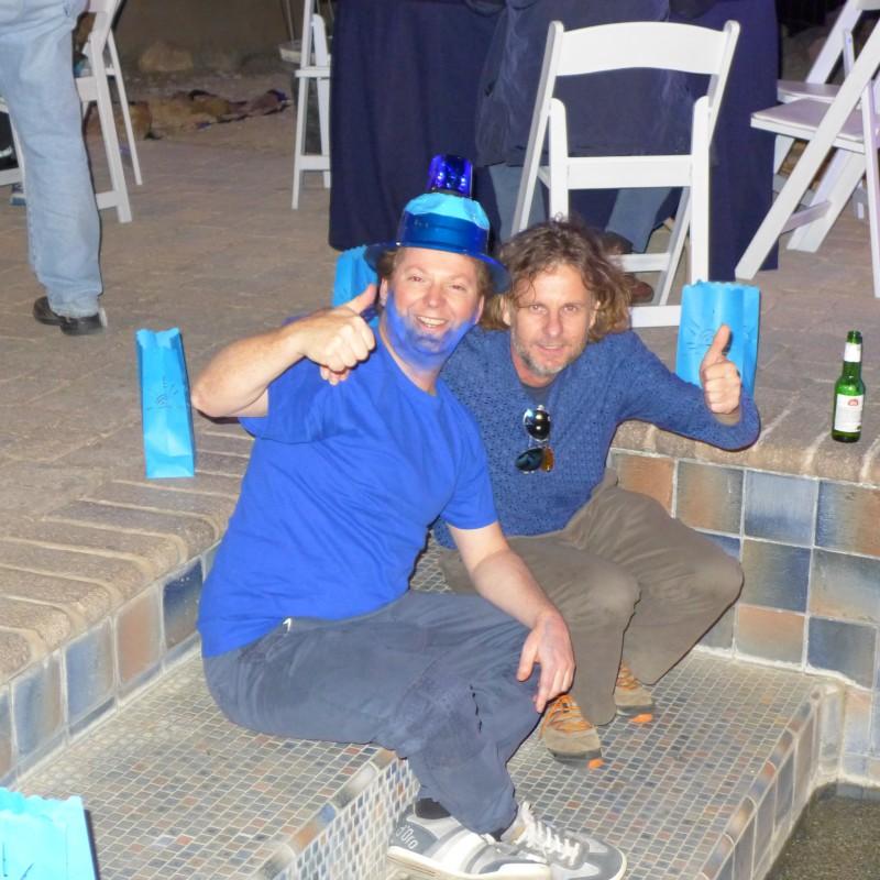 Ed and Tony Fraser
