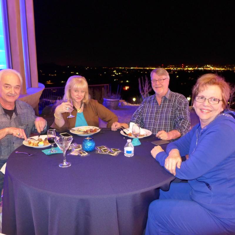 George Dobb, Jeannie and Bill Larson, Kerith Graeber