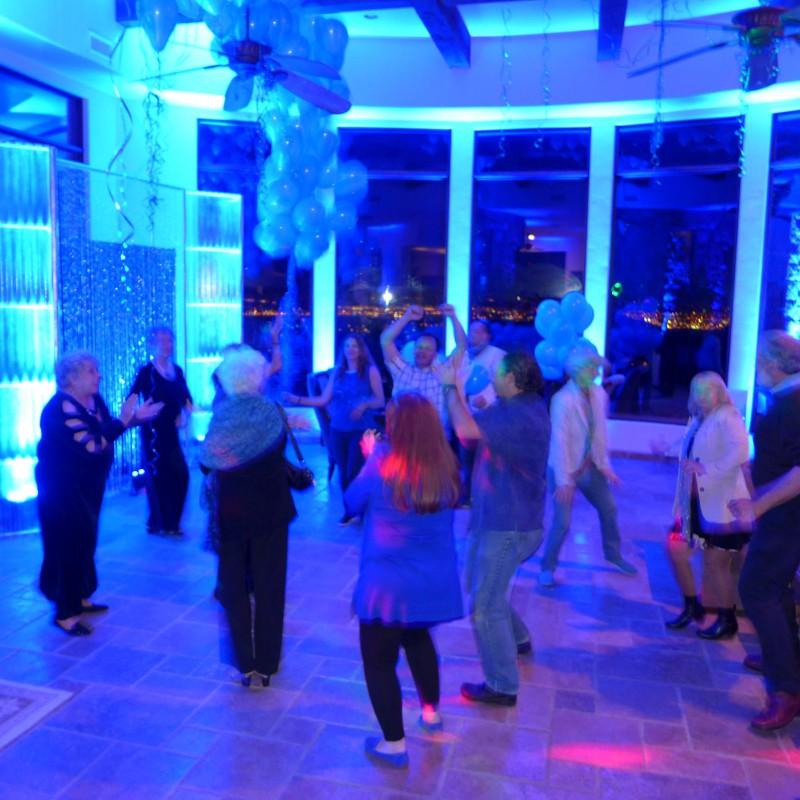 Great DJ had them dancing until midnight