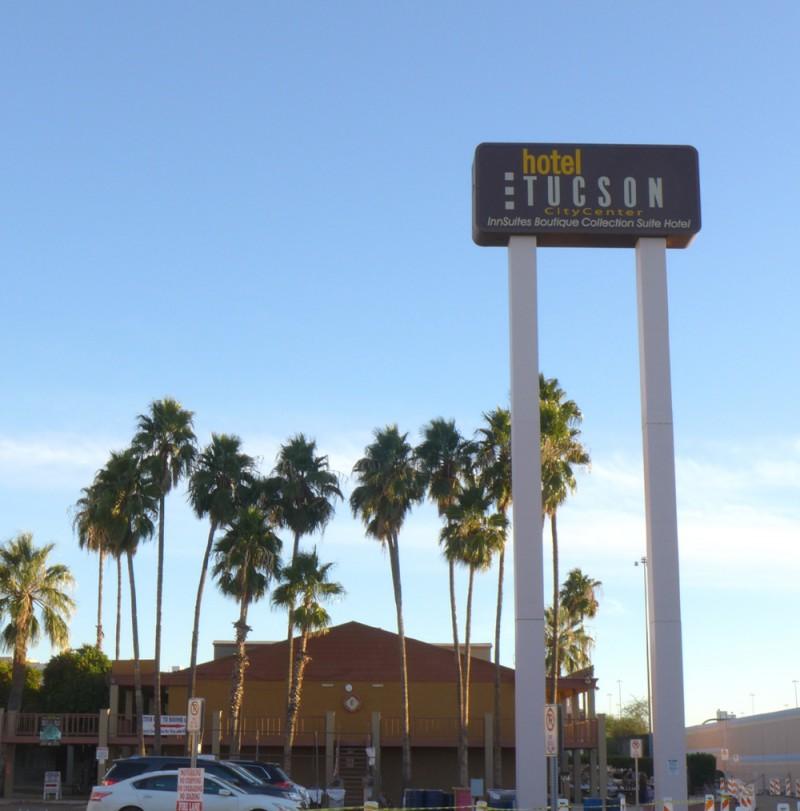 "Hotel Tucson City Centre or ""Inn Suites"""
