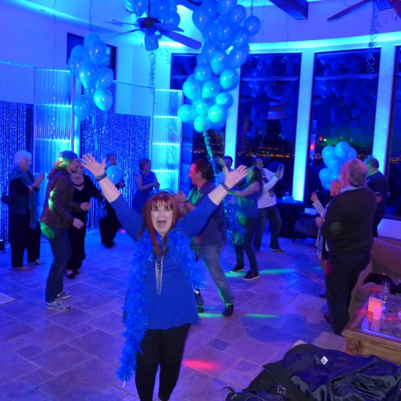 Tana likes to party