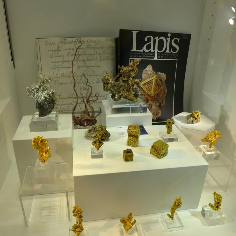 Marcus Budil gold specimens