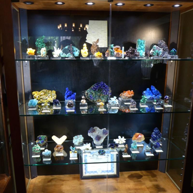 Evan Jones' Arizona minerals