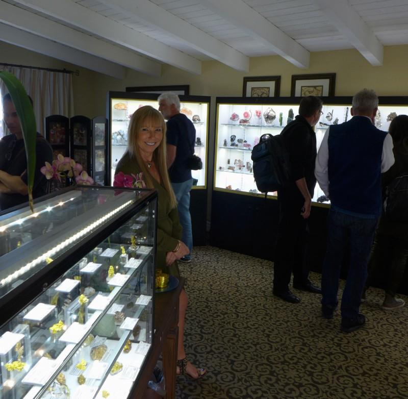 Lois welcoming customers at Westward Look