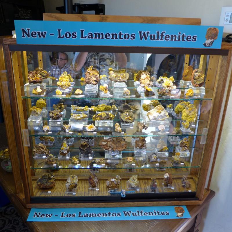 New Los Lamentos wulfenites - Wayne Thompson