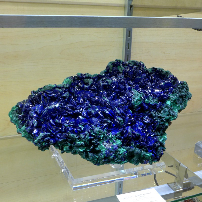 Stunning new azurite from Laos - Miner's Lunchbox