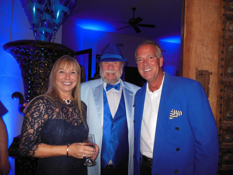 Lois, Wayne and Walt Blair
